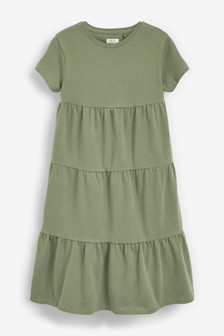 Jersey Tiered Dress (3-16yrs)
