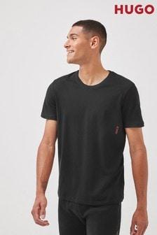 HUGO Black T-Shirts Two Pack