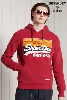 Superdry Vintage Logo Cali Stripe Hoodie