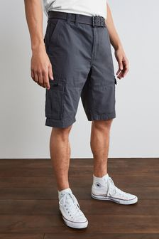 Belted Cargo Shorts