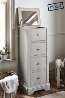 Hampton 4 Drawer Jewellery Chest