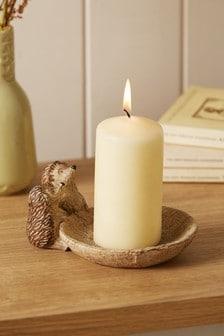 Hedgehog Candle Holder