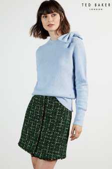 Ted Baker Daizzy Bow Detail Chunky Knit Jumper