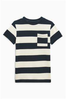Striped Pique T-Shirt (3-16yrs)