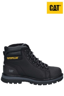 CAT® Black Foxfield Lace-Up Safety Boots