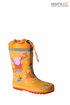 Regatta Yellow Peppa Pig™ Splash Wellies