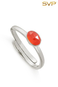 Mix/SVP Atomic Micro Sterling Silver Ring