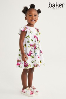 Baker by Ted Baker Girls A-Line Floral Dress