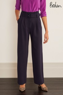Boden Powis Wide Leg Trousers