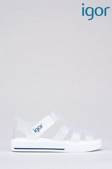 Igor Clear Star Transparent Sandals