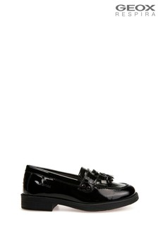 Geox Junior Girl's Agata Black Shoes
