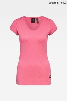 G-Star Core Eyben Slim Fit U-Neck T-Shirt