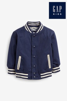 Gap Blue Snap Jacket