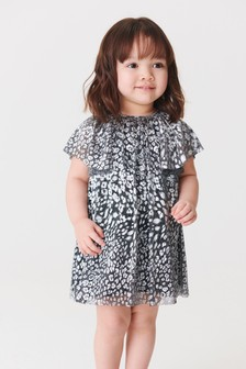 Metallic Print Dress (3mths-7yrs)