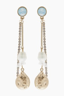 Pearl Effect Earrings