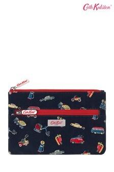 Cath Kidston® Kids White Garage Station Double Zip Pencil Case