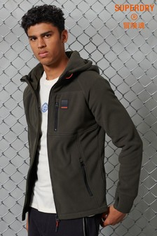 Superdry Polar Fleece Zip Hoody