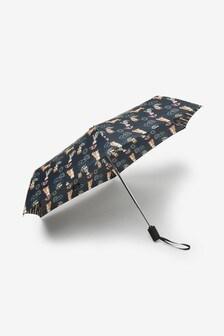 Dog Print Auto Open Auto Close Umbrella