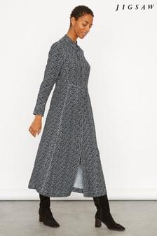 Jigsaw Stamp Dot Shirt Dress