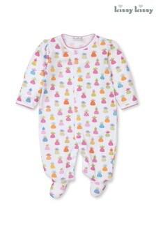 Kissy Kissy Pineapple Sleepsuit