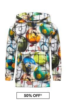 Molo Boys Multicoloured Cotton Hoody