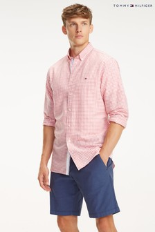 Tommy Hilfiger Cotton Linen Check Shirt