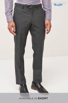 Именной фактурный костюм: брюки