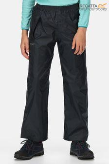 Regatta Blue Kids Stormbreak Waterproof Overtrousers
