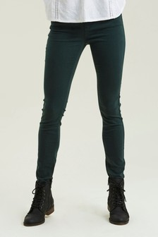 FatFace Green Five Pocket Jeggings