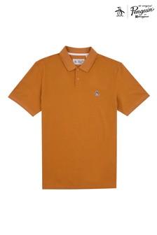 Original Penguin® Yellow Raised Rib Poloshirt