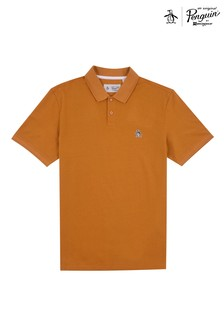 Original Penguin® Yellow Raised Rib Polo Shirt