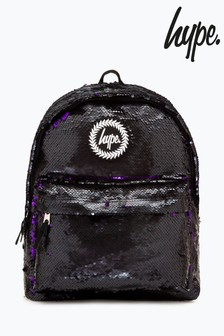 Hype. Midnight Sequin Backpack