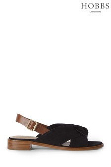 Hobbs Black Robbie Sandals
