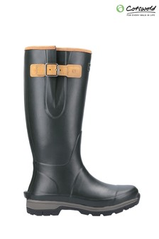 Cotswold Green Stratus Wellington Boots