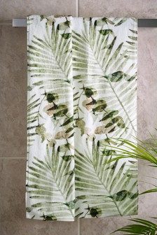 Leaf Print Towels