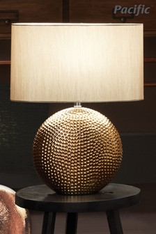 Mabel Textured Ceramic Table Lamp by Pacific Lifestyle