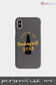 Personalised Stag Do Phone Case by Loveabode