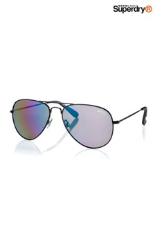 Superdry Heritage Aviator Style Sunglasses