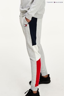 Tommy Hilfiger Grey Colourblock Sweatpants