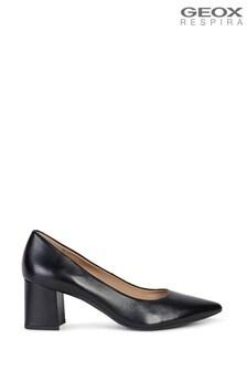 Geox Woman's Bigliana Black Shoes