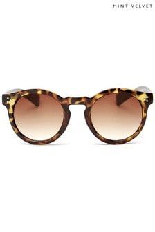 Mint Velvet Kos Tortoiseshell Sunglasses