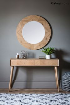 Milano Round Mirror by Gallery Direct