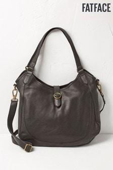 FatFace Black Holly Shoulder Bag