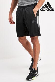 adidas Black 3 Stack Shorts