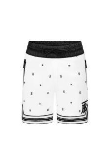 Burberry Kids Boys White Shorts
