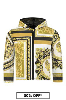 Versace Baby Boys White Jacket