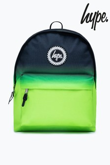 Hype. Black Neon Fade Print Backpack