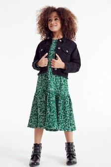 Ditsy Tiered Dress (3-16yrs)