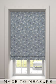 Carrara Sky Blue Made To Measure Roman Blind