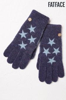 FatFace Blue Mini Star Gloves